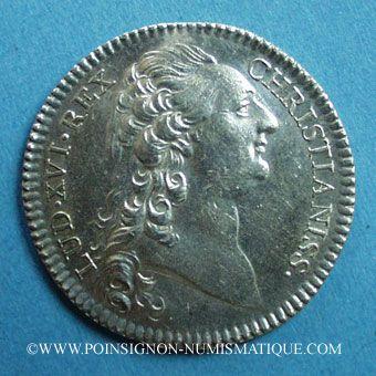 Stolen objects Notaires, Chartres, Louis XVI, jeton argent