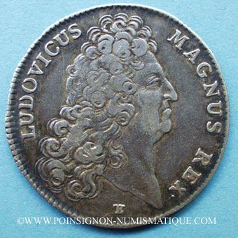 Stolen objects Secrétaires du Roi, Louis XIV, jeton argent 1705