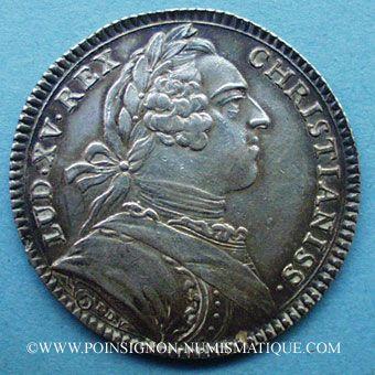 Stolen objects Secrétaires du Roi, Louis XV, jeton argent 1731