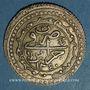 Coins Algérie. Ottomans. Mahmoud II (1223-1255H). 1 boudjou 1240H. Alger
