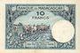 Banknotes Madagascar. Billet. 10 francs type 1926, n. d.