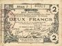 Banknotes Aisne, Ardennes et Marne - Bon régional. Laon. Billet. 2 francs 16.6.1916, série 7