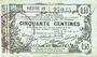 Banknotes Aisne, Ardennes et Marne - Bon régional. Laon. Billet. 50 cmes 16.6.1916, série 22
