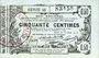 Banknotes Aisne, Ardennes et Marne - Bon régional. Laon. Billet. 50 cmes 16.6.1916, série 41