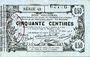 Banknotes Aisne, Ardennes et Marne - Bon régional. Laon. Billet. 50 cmes 16.6.1916, série 42