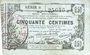 Banknotes Aisne, Ardennes et Marne - Bon régional. Laon. Billet. 50 cmes 16.6.1916, série 6