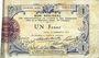 Banknotes Aisne et  Ardennes - Bon régional, Laon, billet, 1 franc 19.9.1915, 1ère série