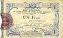 Banknotes Aisne et  Ardennes - Bon régional, Laon, billet, 1 franc 19.9.1915, 4e série