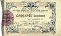 Banknotes Aisne et  Ardennes - Bon régional, Laon, billet, 50 cmes 19.9.1915, 9e série
