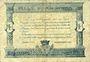 Banknotes Angers (49). Ville. Billet. 50 cmes  novembre 1917, série H