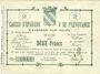 Banknotes Avesnes (59). Caisse d'Epargne et Prévoyance. Billet. 2 francs n. d., série 2