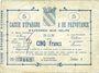 Banknotes Avesnes (59). Caisse d'Epargne et Prévoyance. Billet. 5 francs, série 3