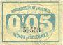 Banknotes Avesnes (59). Société des Bons d'Emission. Billet. 5 cmes n. d., série 1