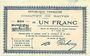 Banknotes Baives (59). Commune. Billet. 1 franc 7.7.1915