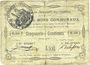 Banknotes Beaumetz-lez-Cambrai (62). Commune. Billet. 50 cmes 12.4.1915