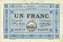 Banknotes Bordeaux (33). Chambre de Commerce. Billet. 1 franc 1917, série 25