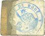 Banknotes Boué (02). Commune. Billet. 10 centimes