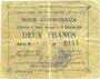 Banknotes Brebières (62). Commune. Billet. 2 francs 20.12.1914, série B