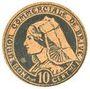 Banknotes Brive (19). Union Commerciale. Billet. 10 cmes 1917