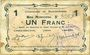 Banknotes Buironfosse (02). Commune. Billet. 1 franc 25.8.1915
