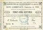 Banknotes Cagnicourt (62). Commune. Billet. 25 cmes, émission 1915, série B