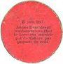 Banknotes Cahors (46). Ville. Guerre 1914. Billet. 10 cmes 26.12.1916