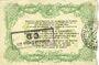 Banknotes Cambrai (59). Syndicat de Communes de la Région de Cambrai. Billet. 10 francs 10.5.1916, série E
