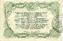 Banknotes Cambrai (59). Syndicat de Communes de la Région de Cambrai. Billet. 10 francs 10.5.1916, série G