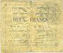 Banknotes Courchelettes (59). Commune. Billet. 2 francs, émission 1914, série B