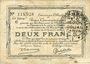 Banknotes Douai et Région de Carvin (59). Billet. 2 francs 22.5.1916, 1ère série C