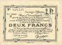 Banknotes Douai et Région de Carvin (59). Billet. 2 francs 22.5.1916, 5e série C