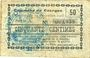 Banknotes Dourges (62). Commune. Billet. 50 centimes 24.12.1915