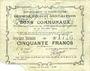 Banknotes Ecourt Saint-Quentin (62). Commune. Billet. 20 francs 20.12.1914, 2e émission