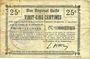 Banknotes Essigny-le-Grand (02). Commune. Billet. B.R.U., 25 centimes
