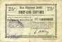 Banknotes Etaves-et-Bocquiaux (02). Commune. Billet. B.R.U., 25 centimes