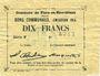 Banknotes Flers-en-Escrébieux (59). Commune. Billet. 10 francs, émission 1914, série F