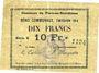 Banknotes Flers-en-Escrébieux (59). Commune. Billet. 10 francs, émission 1914, série K