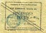 Banknotes Flers-en-Escrébieux (59). Commune. Billet. 10 francs, émission 1914, série L, annulation manuscrite