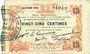 Banknotes Fourmies (59). Bon Régional des Départ. du Nord, Aisne & Oise. Billet. 25 cmes 24.10.1915, 4e série