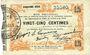 Banknotes Fourmies (59). Bon Régional des Départ. du Nord, Aisne & Oise. Billet. 25 cmes 24.10.1915, 5e série