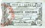 Banknotes Fourmies (59). Bon Régional des Départ. du Nord, Aisne & Oise. Billet. 50 cmes 8.5.1915, série 45
