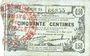 Banknotes Fourmies (59). Bon Régional des Départ. du Nord, Aisne & Oise. Billet. 50 cmes 8.5.1915, série 54