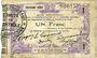 Banknotes Fourmies (59). Bon Régional Nord, Aisne et Oise. Billet. 1 franc 24.10.1915, 2e série