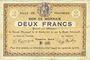 Banknotes Fourmies (59). Ville. Billet. 2 francs 28.10.1914, 1ère série