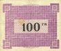 Banknotes Ham, Noyon & Saint-Simon (80). Union des Communes. Billet. 100 francs