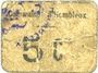 Banknotes Hombleux (80). Commune. Billet. 5 centimes