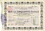 Banknotes La Fère (02). Ville. Billet. 50 francs 30.11.1914, série A