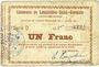 Banknotes Lesquielles-Saint-Germain (02). Commune. Billet. 1 franc 11.7.1915, série D
