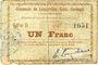 Banknotes Lesquielles-Saint-Germain (02). Commune. Billet. 1 franc 20.6.1915, série D