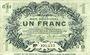 Banknotes Lille (59). Ville. Billet. 1 franc 15.12.1917, série G